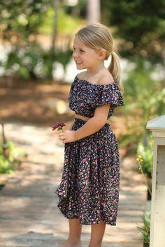 Midsummer Dream PDF Pattern 2T-14yrs Girls Skirt Patterns, Summer Dress Patterns, Sewing Patterns For Kids, Dress Sewing Patterns, Dresses Kids Girl, Kids Outfits, Baby Dresses, Girls Crop Tops, Midsummer Dream