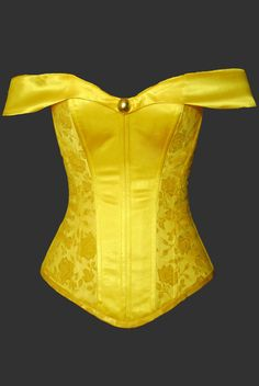 Belle Overbust Corset by TheCorsetCarriage on Etsy, $250.00