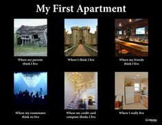 My First Apartment: How the world sees it