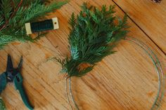 Make Your Own Evergreen Wreath...It's Not Hard