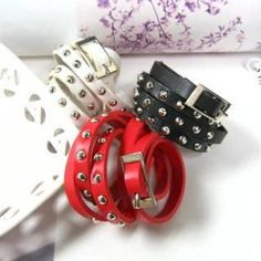 Studded Wrist Bands  #50, #Accessories, #Angelove, #Fashion, #FashionAccessory, #Httpwwwyesstylecomeninfohtmlpid1024154603, #YesStylecom