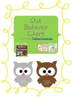 Owl Classroom Theme Ideas | Classroom Owl Themed Behavior Clip Chart