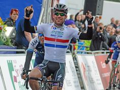 TOUR OF BRITAIN STAGE FOUR GALLERY It was Mark Cavendish who emerged triumphant in the sprint finish...