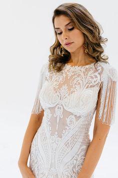 Azalia — Ella Moda Custom Wedding Dress, Wedding Dresses, Fashion Forward, Couture, Lace, Collection, Women, Bride Dresses, In Trend