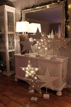 Lindevegen (hmm... This IS a Christmas decorating possibility with all of those stars...maybe hang a few so it flows upward?)