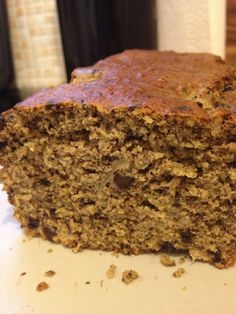 Cake poire-chocolat aux 5 farines IG bas – Megalow Food