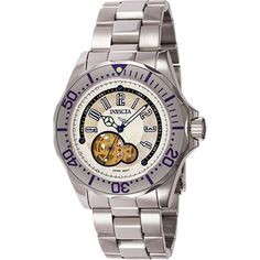 Invicta Mens 3433 Pro Diver Collection Skeleton Dial Watch *** More info could be found at the image url.(This is an Amazon affiliate link and I receive a commission for the sales)