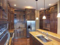 dynamic woodworking kitchen layout