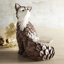 Fox Tealight Candle Holder