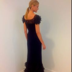 Andrea O'Mahony in Peggy Jennings Couture. Saks Fifth Avenue - St. Louis.
