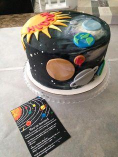 Solar system cake #cheekycakes