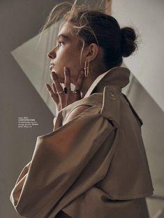 Anna Mila Guyenz | Boyish Fashion Editorial | ELLE Australia