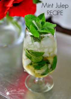 Delicious classic mint julep recipe! Make it tonight!