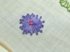 Pistil Stitch Flower