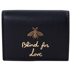 ef6b84aa6385 Buy your leather wallet Gucci on Vestiaire Collective, the luxury  consignment store online. Second-hand Leather wallet Gucci Black in Leather  available.