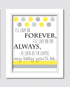 Nursery Print: Would you like to see this offered as a free printable on Rain OR Shine?