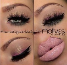 Motives by Loren Ridinger is a trusted name in makeup, skin care, and body care. Shop securely online for your favorite cosmetics and beauty products. I Love Makeup, Kiss Makeup, Cute Makeup, Pretty Makeup, Makeup Looks, Hair Makeup, Glitter Makeup, Makeup Style, Makeup Art