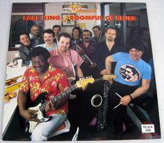 Earl King & Roomful Of Blues 1986 Glazed Vinyl LP Album Rock Blues NM Black Top #1980sBluesRockBlues