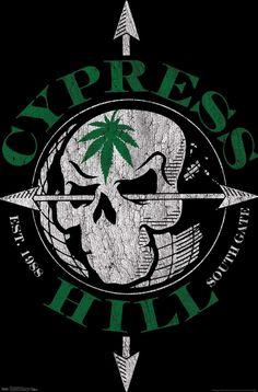 Hip Hop Logo, Hill Logo, Doddle Art, Cypress Hill, Oakland Raiders, Online Images, West Coast, Album Covers, Skulls