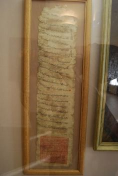This is a rare medieval document as yarlikh, written in old Tatars language (today this language is considered as a dead one), By black and red inks. The yarlikh was granted to Moscow Princes in the 13-15th centuries in the era of Tatars and Mongol raids against Russia. Yarlikhs proved the right of Princes and Priests to govern territories; the copy of yarlikh was written in Russian. Yarlikhs were annulated starting the 15th century.