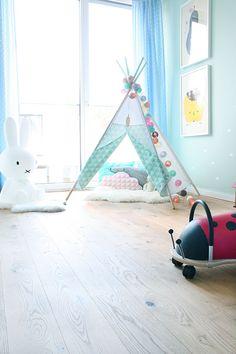 Kinderräume Tipi & Käfer