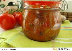 Ostré čatní z cukety recept - TopRecepty.cz Pumpkin Squash, Pesto, Chutney, Pickles, Cucumber, Zucchini, Salsa, Smoothie, Food And Drink