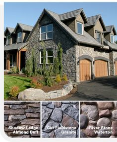 5 types of stone siding for homes home exteriors pinterest house siding stone siding and Types of stone for home exterior
