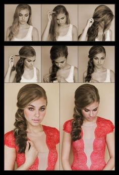 How to style a side scallop braid | hairstyles tutorial by Hairstyle Tutorials  Soft & romantic...