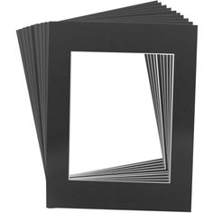 11 in. x 14 in. Matte Black Picture Mat Frame w/ White Bevel for 8 in. ($13) ❤ liked on Polyvore featuring home, home decor, frames, backgrounds, borders, picture frame, white home accessories, bevel frames, white frames and white picture frames