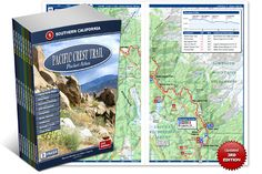 Pacific Crest Trail Pocket Atlas | Blackwoods Press