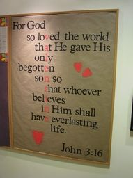 part of the verse is missing, but I could fix that and put it in my classroom :)