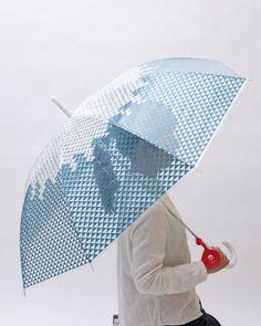 """Mt.Fuji design umbrella """"FUJISAN"""""""