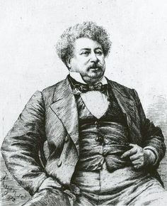 Alexandre Dumas père (24 July 1802 – 5 December 1870), French writer and author of The Count of Monte Cristo and The Three Musketeers.