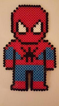 Spiderman perler beads
