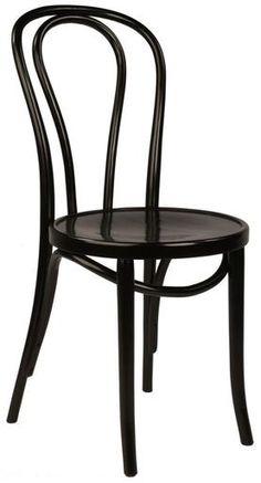 Replica Thonet Bentwood Chair - Black - $159 Each!