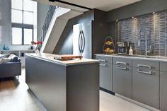 인테리어 수 디자인  | Gray톤의 모던한 주방 인테리어 - Daum 카페