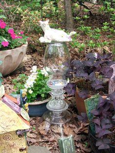 Garden totem by Tammy Vitale