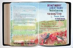 do not worry bile journaling #biblejournaling #bible #biblestudy #infographic #pdf #printable