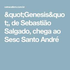 """""""Genesis"""", de Sebastião Salgado, chega ao Sesc Santo André"""