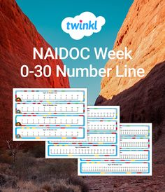 Use this set of three NAIDOC Week number lines, from 0-10, 0-20 and 0-30 to support your Foundation to Year 2 maths teaching. Decorated with an Indigenous-theme, this resource would make a nice addition to your NAIDOC Week activities or other topics around Aboriginal and Torres Strait Islander people and cultures. Naidoc Week Activities, Year 2 Maths, Number Lines, Teaching Math, Numbers, Foundation, Nice, People, Folk