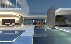 Maison contemporaine architectes a2-sb Genêve
