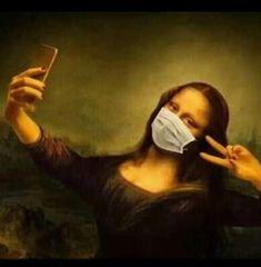 Aesthetic Drawing, Aesthetic Art, Le Sourire De Mona Lisa, Monalisa Wallpaper, Mona Lisa Drawing, Drawing Art, Art Drawings, Funny Art, Funny Memes
