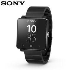 A watch worthy of Batman: Sony Smartwatch 2 with black metal strap