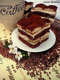 Ciasto Latte Macchiato shared by Ʈђἰʂ Iᵴɲ'ʈ ᙢᶓ Cake Recipes, Dessert Recipes, Traditional Cakes, Latte Macchiato, Polish Recipes, Food Cakes, Cake Cookies, Mocha, Cooking Recipes