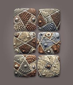 amazing pattern polymer clay decoration