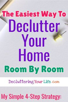 Cleaning hacks tips and tricks! Simple Housekeeping Lifehacks (even if you're a lazy girl! How to declutter and organize your home room by room (even if you're a packrack!