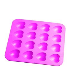 Heart Mold - perfect for making candy, ice cubes, finger jello, etc... #crayon