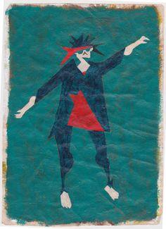 ダンサー People Illustration, Painting, Painting Art, Paintings, Painted Canvas, Drawings
