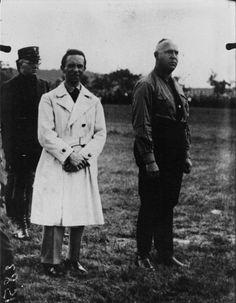 Dr. Joseph Goebbels and Gregor Strasser. (via indesirableprincesse)