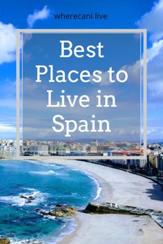 Gorgeous Spain. But where should you live? Here is our pick of the top places. #spain #expat #bestplaces Best Places To Retire, Spanish Islands, Underwater City, Work Abroad, Living In Europe, Majorca, Digital Nomad, Tenerife, Travel Inspiration
